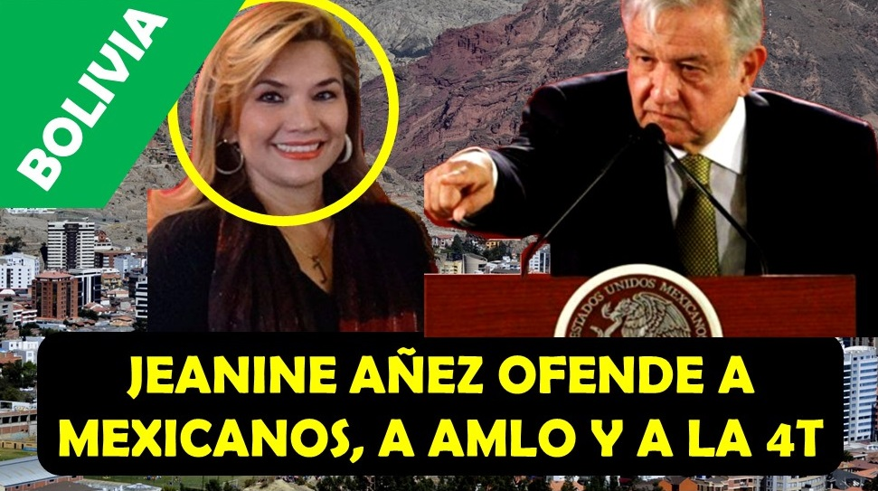 jeanine anez afende a mexicanos